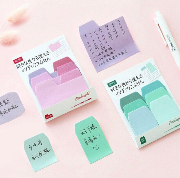 Sticky notes bokmerker