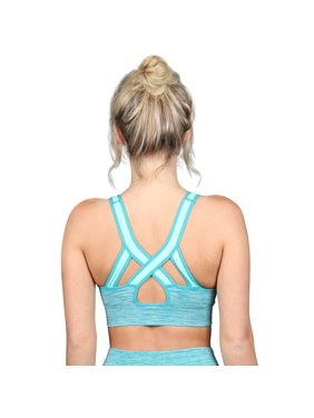 Dip-Dye Ombre Athletic Bra Top