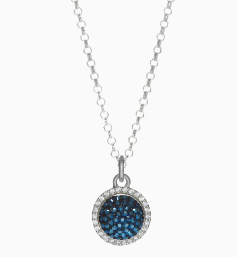 Hillberg & Berk Sparkle Ball™ Halo Necklace Pendant
