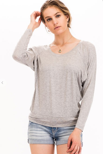 Long Sleeve Soft Sweater