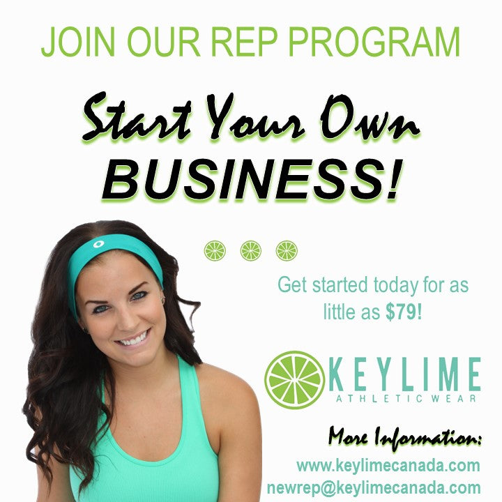 KEYLIME Rep Signup & Sample packages