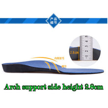 Load image into Gallery viewer, Cushioned orthopedic insoles (not height increasing, just comfort)