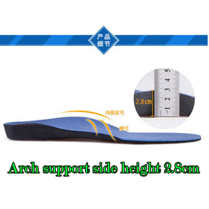 Cushioned orthopedic insoles (not height increasing, just comfort)