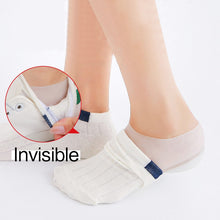 Load image into Gallery viewer, Invisible Height Increasing Insole Silicone Heel Socks (2-5cm) insoles