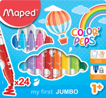 Paquete de marcadores multi-color COLOR'PEP My First Jumbo (12x)