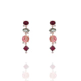 Rouge Stone Drop Earrings