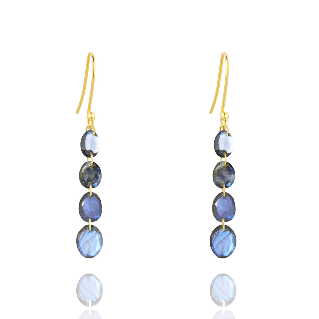 Aurora Linked Stone Earrings