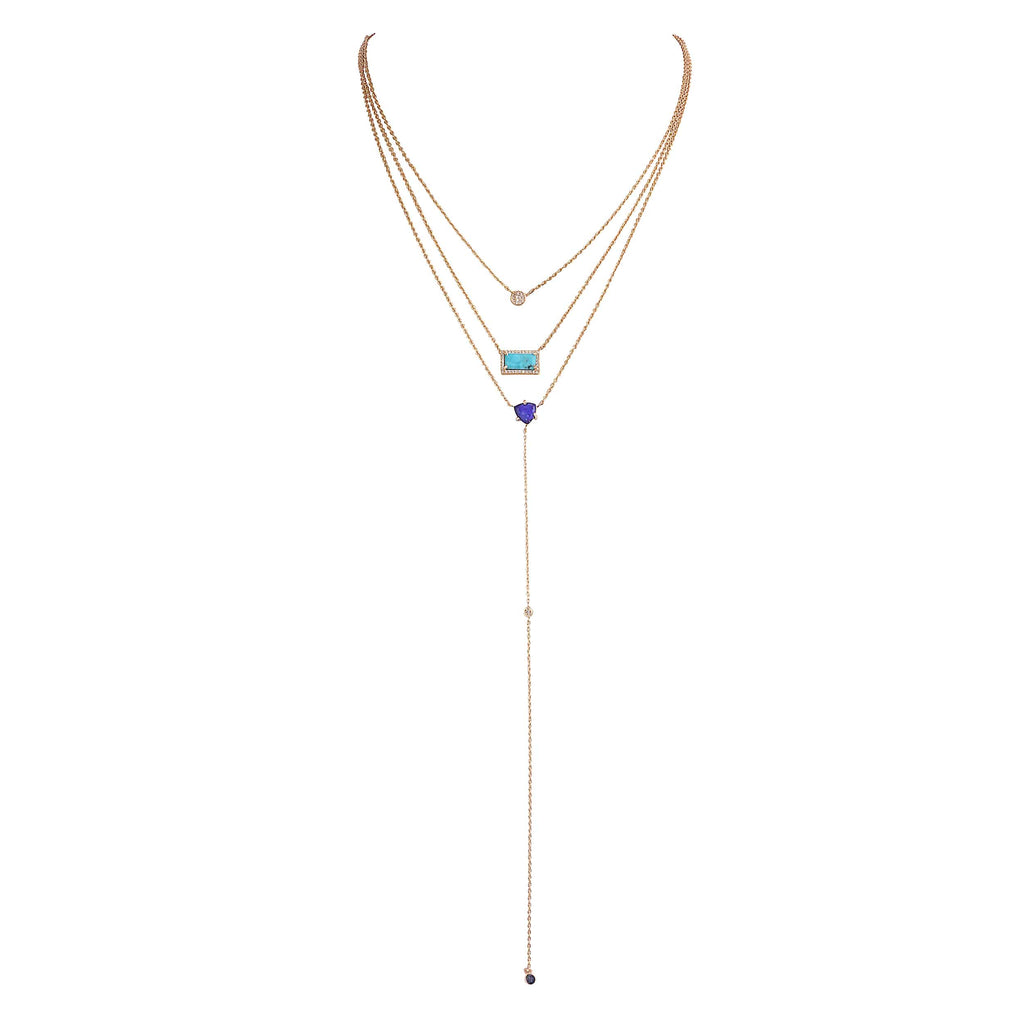 Resort Turquoise and Lapiz Necklace