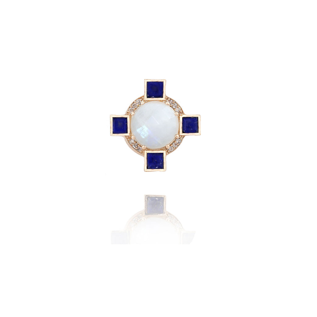 Cerulean Statement Ring