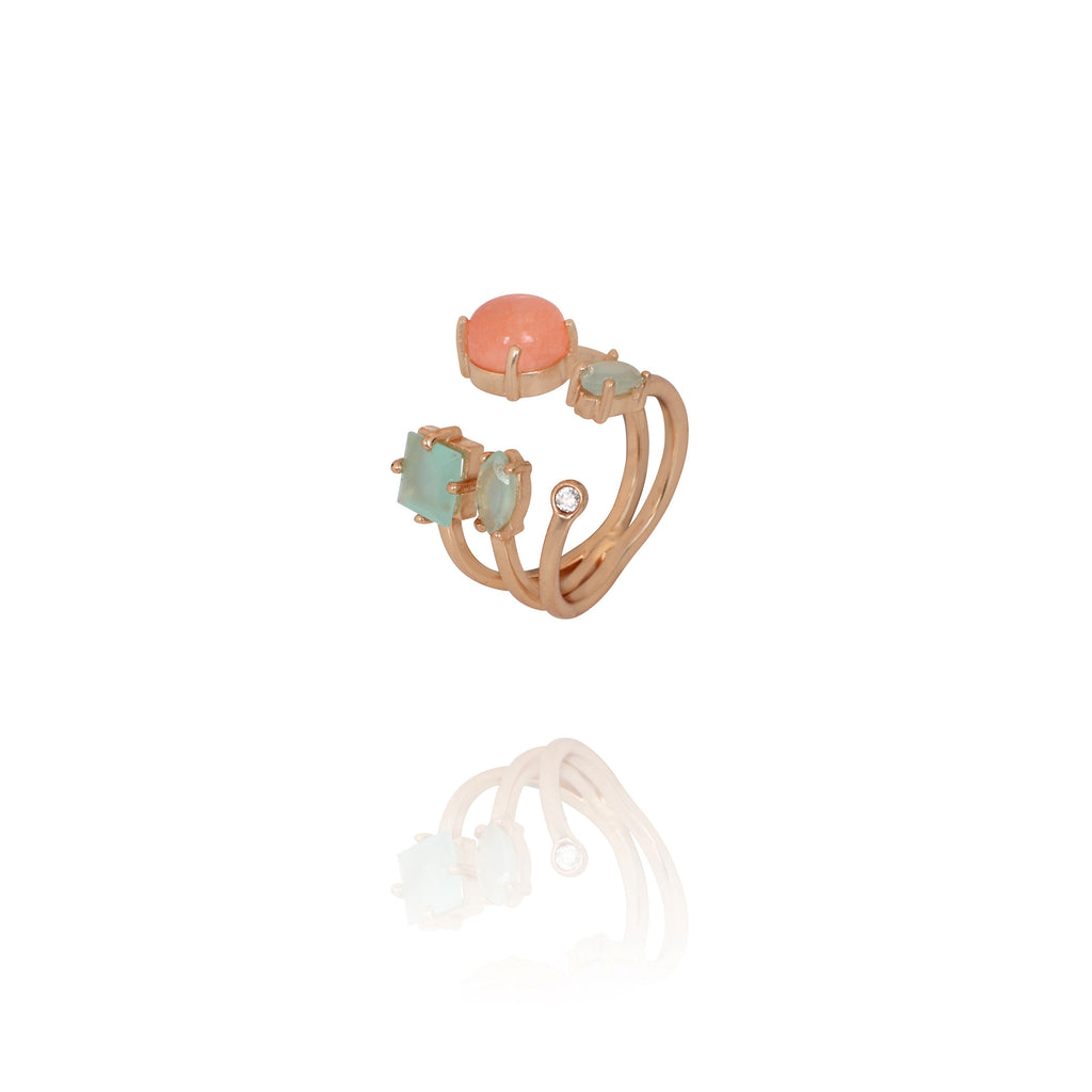 Resort Multi Stone Ring