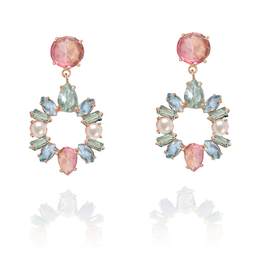 Candy Cabana Statement Danglers