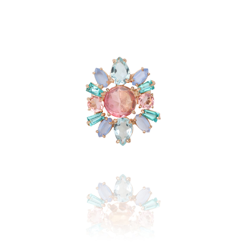 Candy Cabana Statement Ring