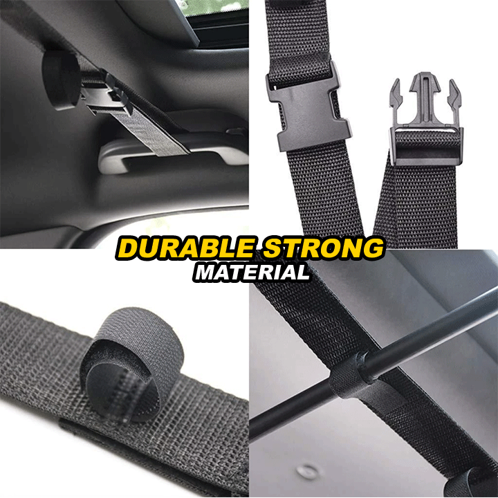 Car Fishing Rod Holder Straps (2pcs)