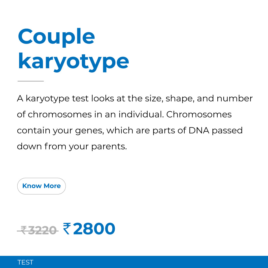 Couple Karyotype Test