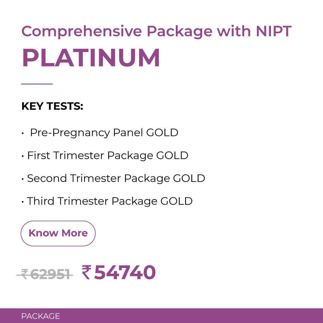 Crysta Platinum Comprehensive Package with NIPT
