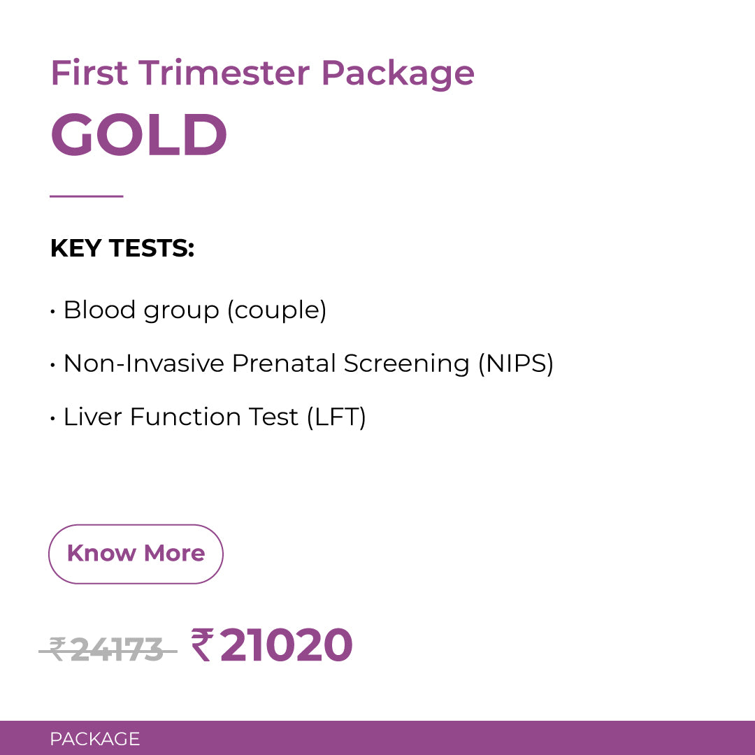Crysta Gold First Trimester Package