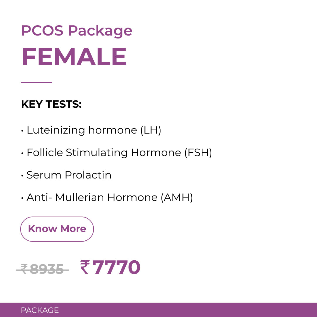 PCOS Package- Females