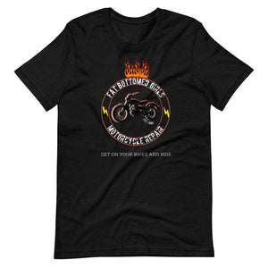 Fat Bottomed Girls Motorcycle Boxy Tee