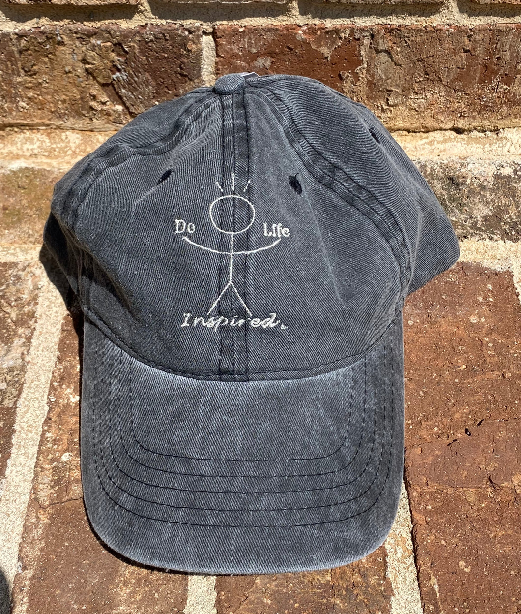 Washed Twill Hat - Do Life Inspired