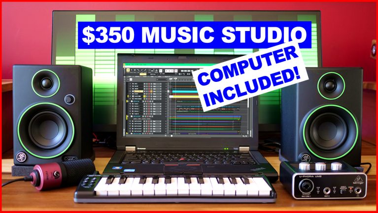 $350 Music Studio - Computer Included