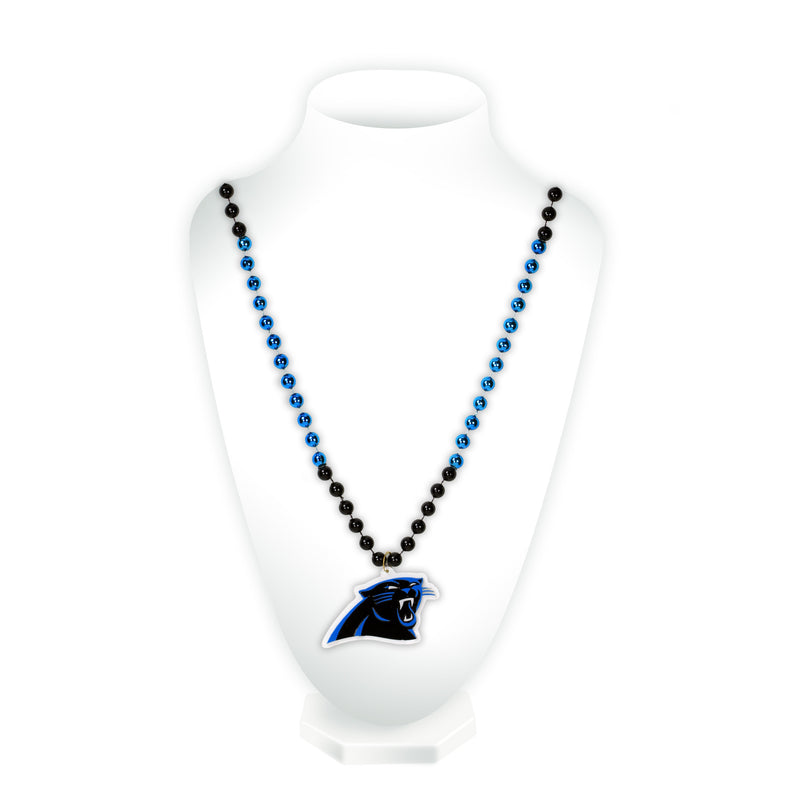 Car Panthers Sport Beads With Medallion