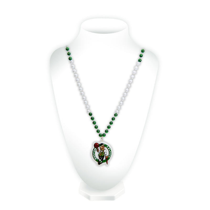 Celtics Sport Beads With Medallion