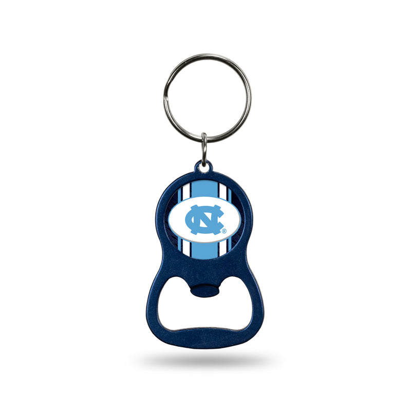 North Carolina University Navy Bottle Opener Keychain