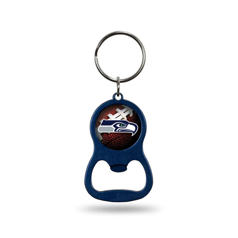 Seahawks Navy Bottle Opener Keychain