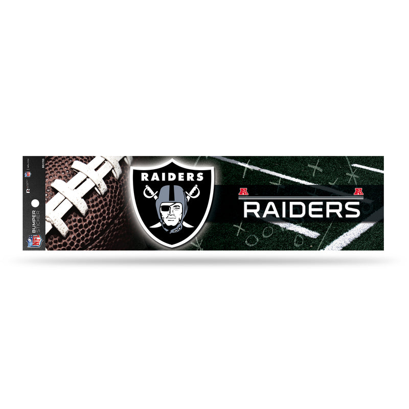 Raiders Bumper Sticker