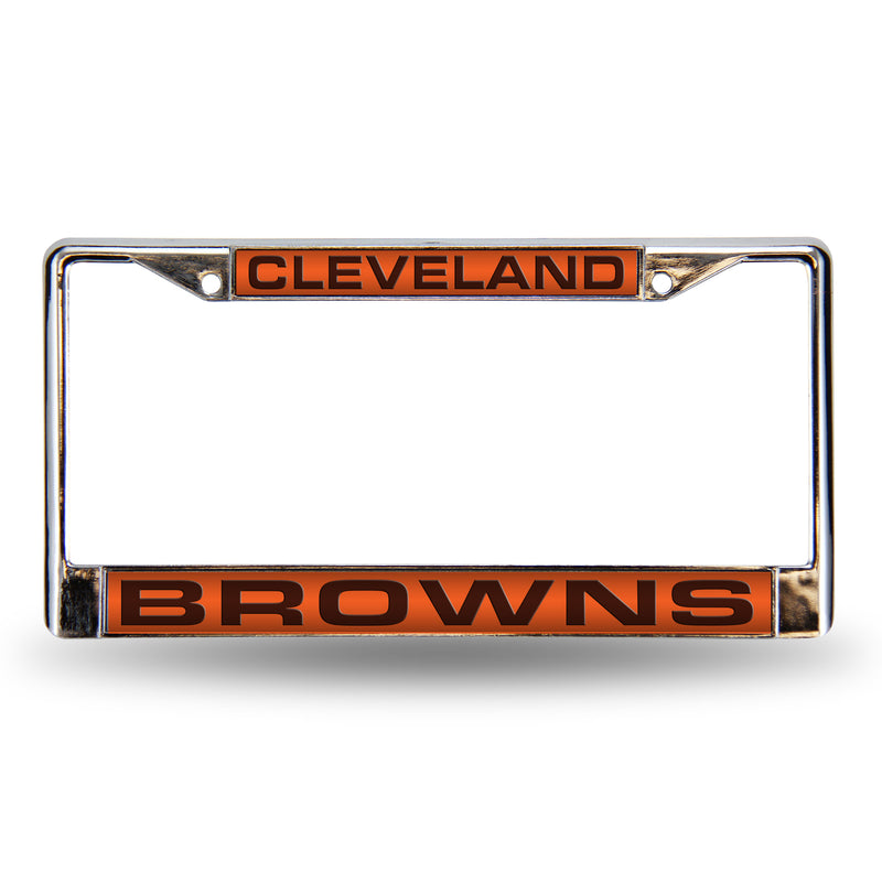Browns Orange Laser Chrome Frame