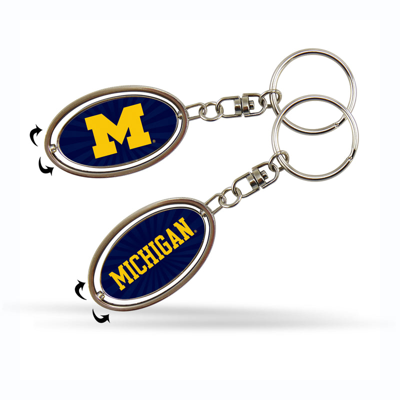 Michigan Spinner Keychain