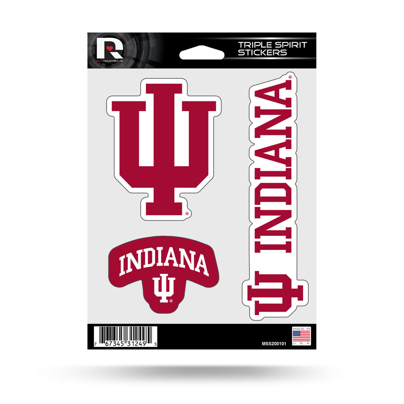 Indiana Triple Spirit Stickers