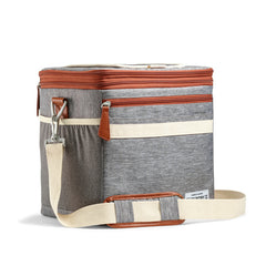 12 can cooler gray