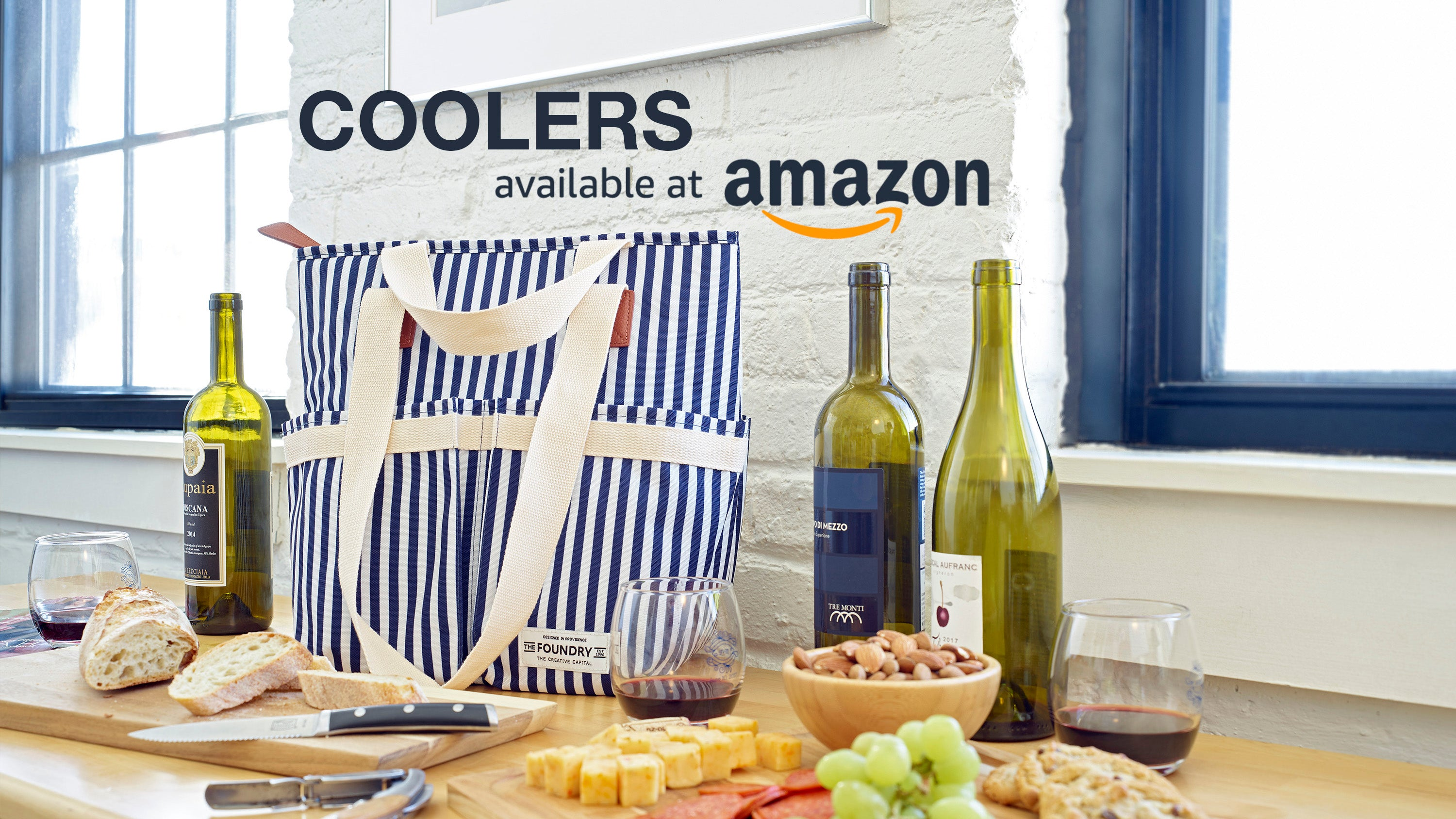 Cooler Wine Tote Available at Amazon
