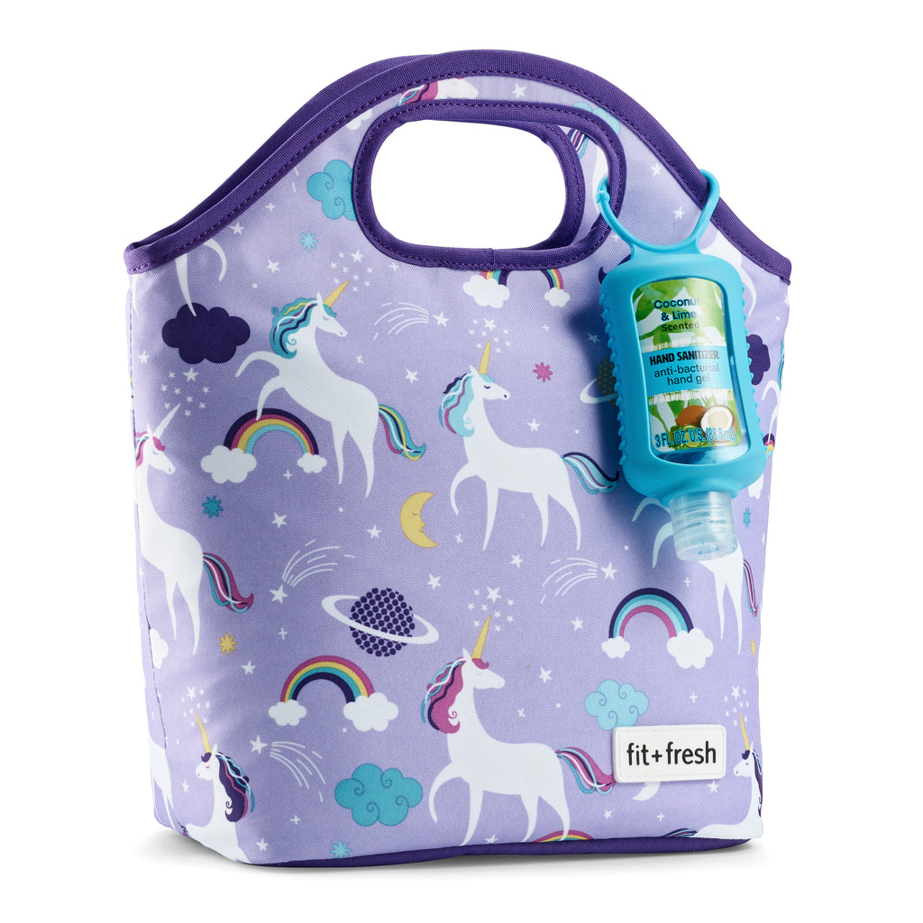 Sloane Purple Unicorn Lunch Kit