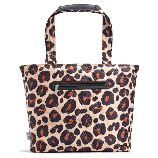 Leopard Luxe Downtown Commuter Metro Tote