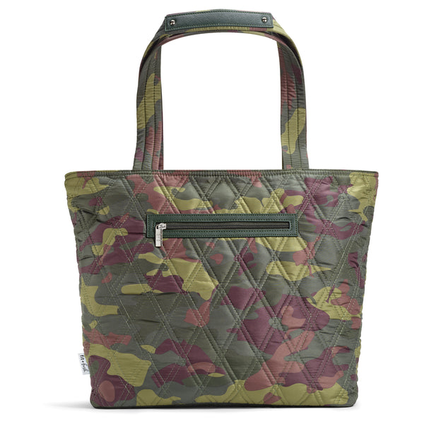 Camo Luxe Downtown Commuter Metro Tote