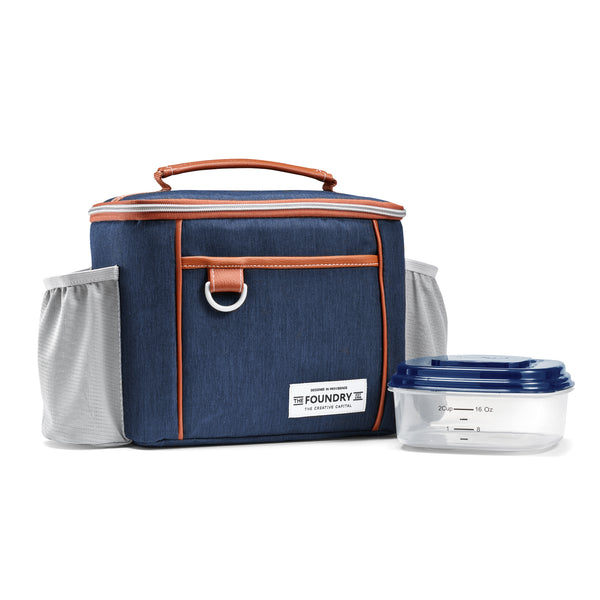 Denim Promenade Lunch Bag Set