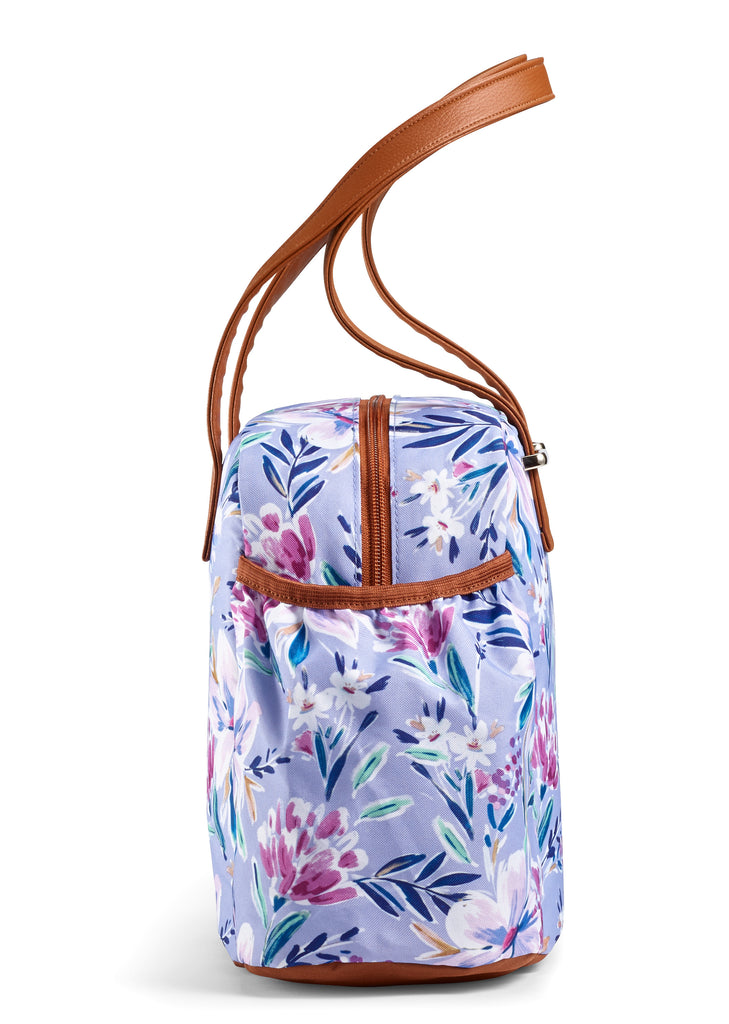 April Showers Bring May Flowers Floral Lunch Bag