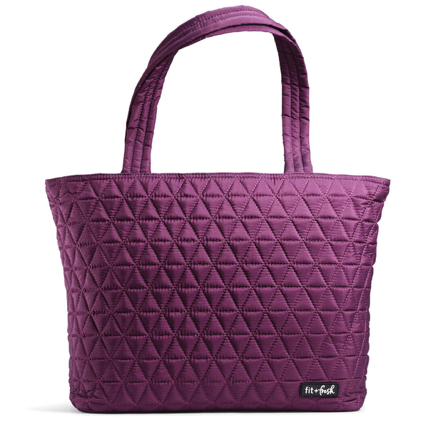 Purple Downtown Commuter Metro Tote