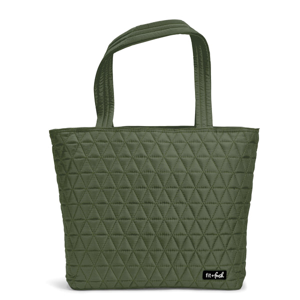 Green Downtown Commuter Metro Tote