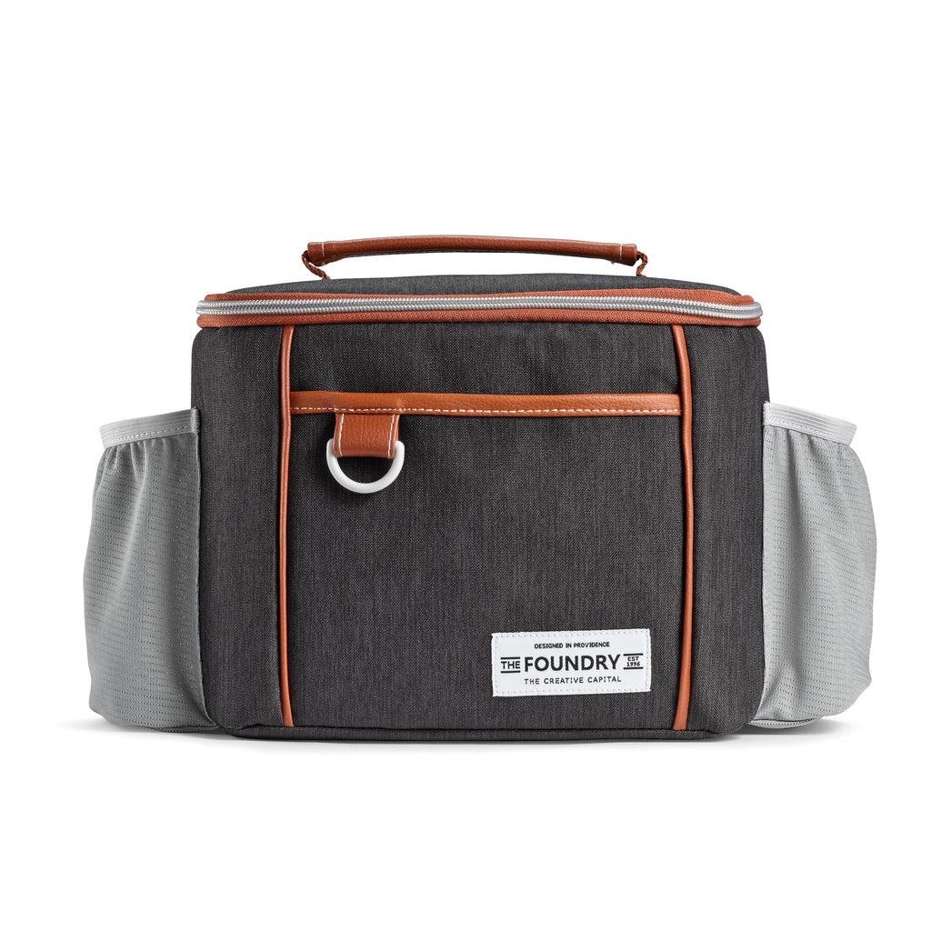 Black Promenade Lunch Bag