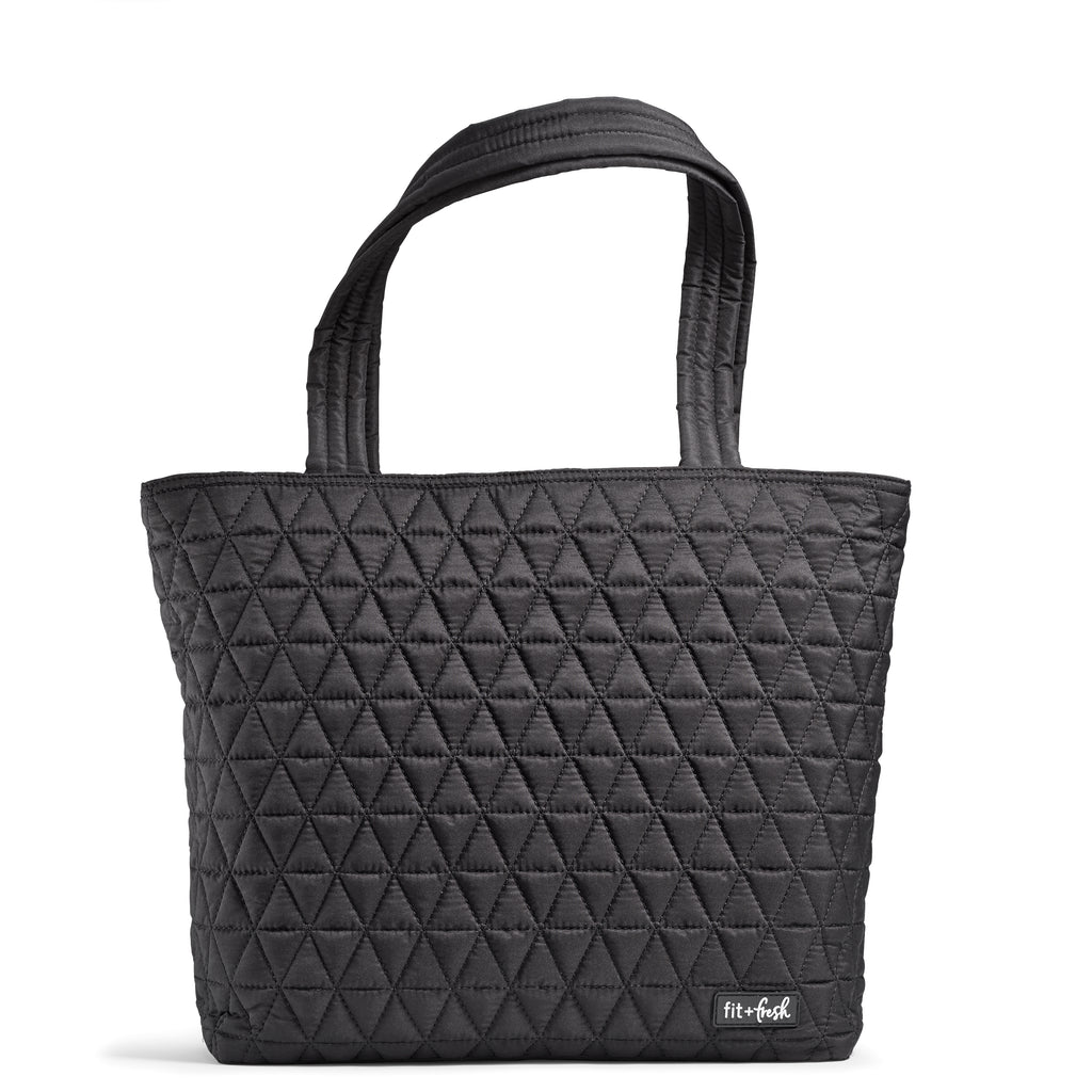 BLACK DOWNTOWN COMMUTER TOTE