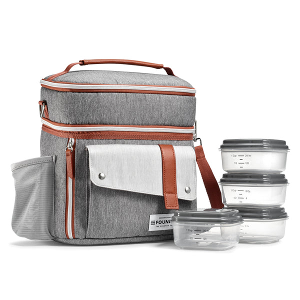 Wickenden Lunch Bag - Steel
