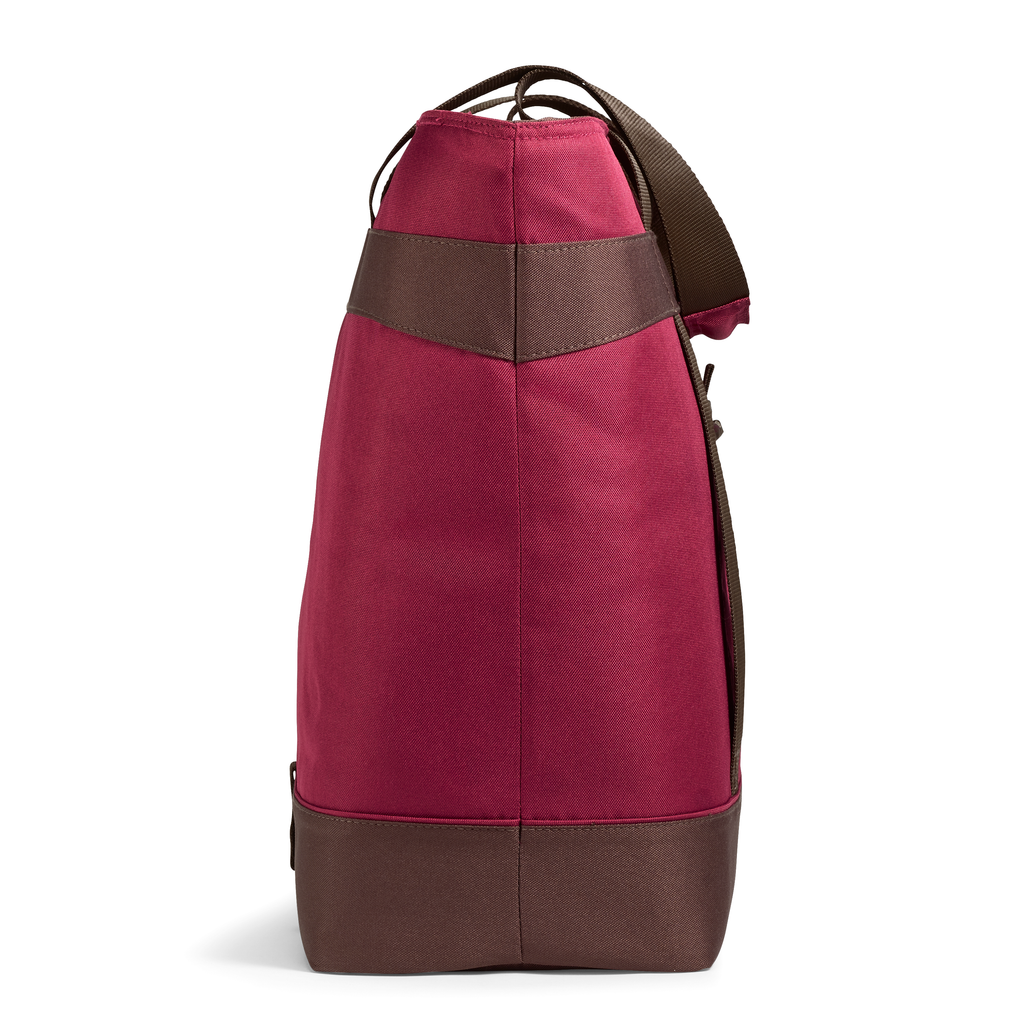Jumbo Chillout Insulated Tote - Burgundy
