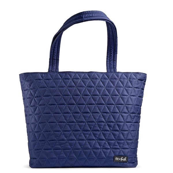 Navy Downtown Commuter Tote