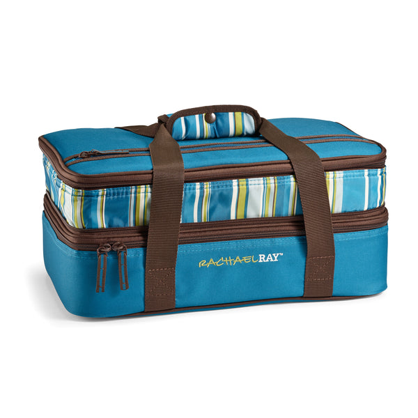 Expandable Lasagna Lugger - Marine Blue Stripe