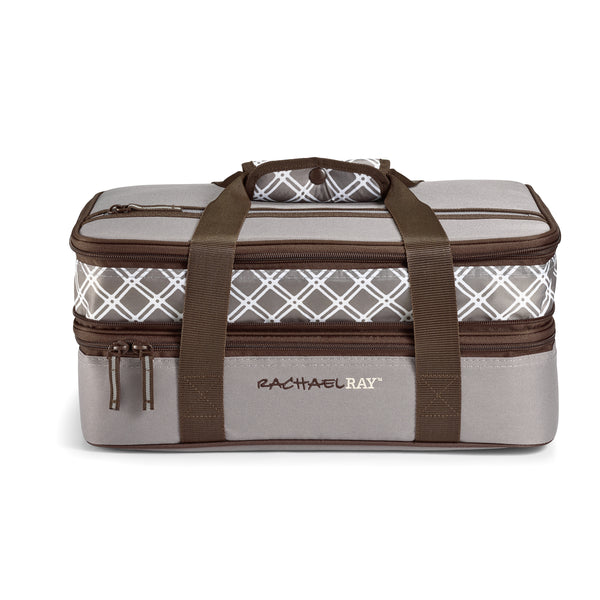 Expandable Lasagna Lugger - Sea Salt Gray