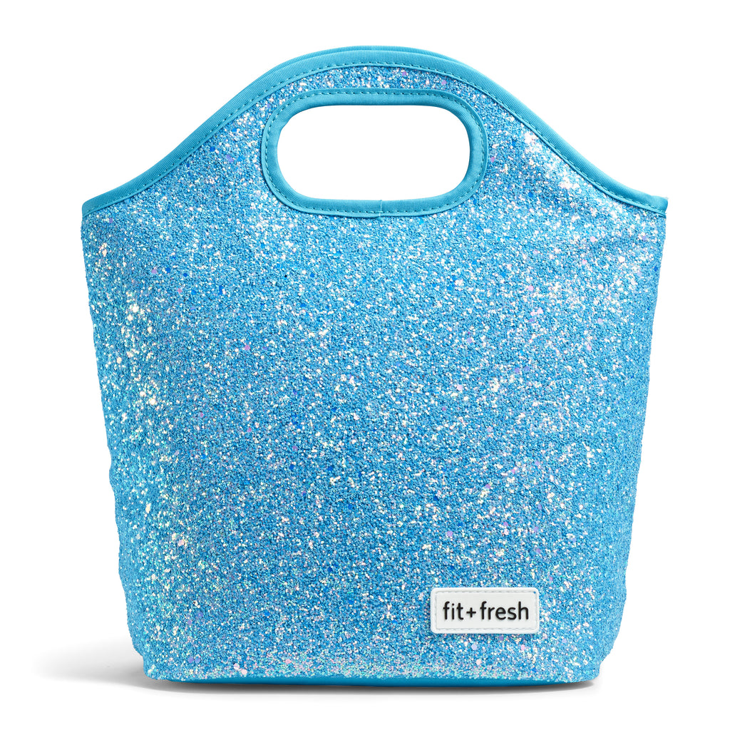 Sloane Blue Glitter Lunch Kit