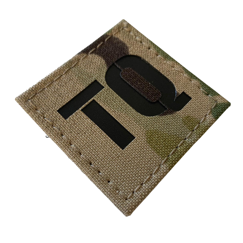 TQ Patch 50x50mm 500d Multicam Cordura Black Insert